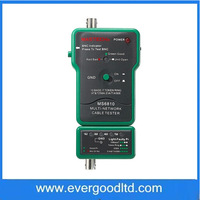Professional Multi Network Cable Tester Meter MASTECH MS6810 RJ45 BNC Tests for Coaxial Cable