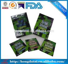 hot sale plastic food grade custom herbal incense bags