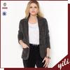 New Design Wool Fashion Woman Blazer Jacket Winter 2014