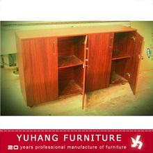 wooden locked file cabinet/melamine office furniture