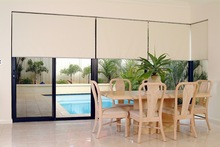 roller blinds with blackout fabric motorized roller curtain with remote