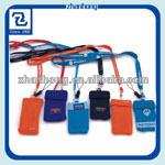 Polyester cheap mobile phone lanyard free sample