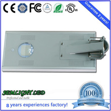 Aluminium Price Per kg Street Light Fixture Mounting , LED Street Light All In One