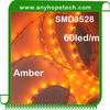 2015 best selling 300LEDs amber flexible smd led light strips