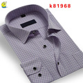 Fashion morden mens shirts shirt with two pocket in China