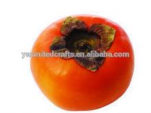 di frutta decorativo di colore arancione cachi frutti artificiali