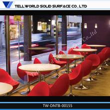 Profesional muebles fabricación, Alta calidad de mármol mesa de comedor redonda precio