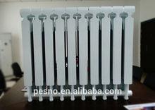 600mm oem marca di alta qualità angolo alluminio pressofuso radiatore ad acqua calda