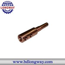 cnc machining parts copper material blender spare parts