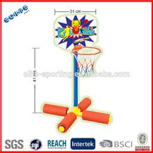 plastic basketball stand water usable portable basketball hoop stand for kids