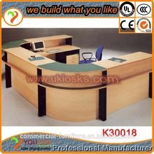 4 m reception forma u reception di legno di legno del grano