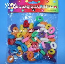 promotion cheap mini elastic hair band, small hair loop
