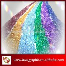 Hot Sale Christmas Decorations 1.0mm Fluorescent PET Glitter Powder
