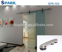 Amazing Europe Design Tempered Glass Office Door From Hangzhou Spark