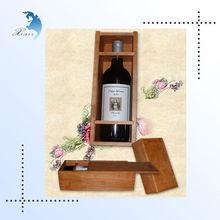 Double wine bottles wooden box,wine wooden box wine carrier