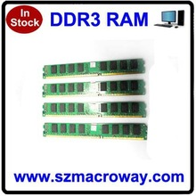 OEM computer parts 2x8GB ddr3 memory 1600 16gb with low density