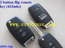 good quality Ki 3 button remote key ,K smart key (433 mhz)