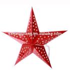 45cm 60cm christmas hanging 3D paper star