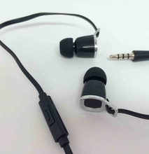 Mini stylish earphone, lightweight and comfortable fully closed ear pieces, simple and elegant design, for promotion,