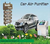 negative ion 800pcs/cm3 ,timer 10 minutes,portable car ionic air purifier