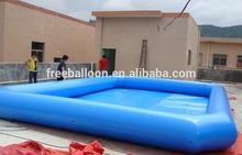 China precio inflable cubo piscina de agua de venta