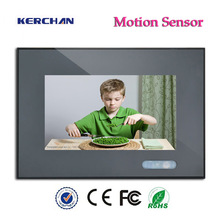 2014 new 7 inch advertising lcd tvs with motion sensor