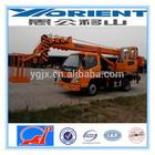top brand 6 ton hydraulic all terrain truck crane for sale