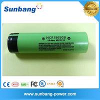 Shenzhen manuafcturer wholesales li-ion battery 3400mAh MH12210 NCR 18650b