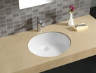 HC-2204 Undermount viterous China sink ADA high lavatory hand basin