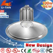 High Lumine and Hign quality ac 85265v 100w e40 high bay light