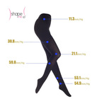2014 hot sale Black sexy women legging body shaping