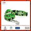 High quality Durable nylon with heattransfer pringting ribbon dog collar and leash