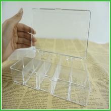 hot sale transparent plastic box/clear plastic box wall mount/plastic garden storage box