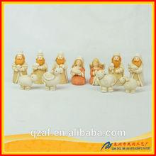 polyresin nativity set/ polyresin holy family/ polyresin christian statue