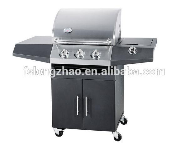Weber gaz grill barbecue barbecue au gaz avec 1 br leur - Barbecue gaz avec bruleur lateral ...