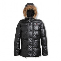 hot selling thermal battery heated ski jacket with fur hood