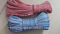 PE 16 braid, 8 braid rope