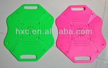 plastic folding dish drainer wall chefing dish colour pp plastic eco-friendly fruit dish