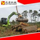 Rotating wood hydraulic rotator grapple made in china high power