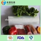 food packaging plastic roll film