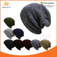 Knit Men's Women's Baggy Beanie Oversize Winter Hat Ski Slouchy Cap