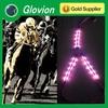 Lighting horse driving harness glovion nylon horse halter led horse harness