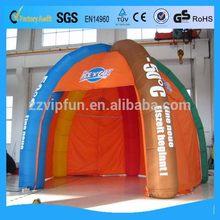 2014 unique air tight inflatable tent