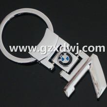 Hot sale metal BMW 7 key chain , car brand keychain keyring