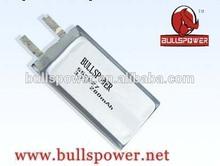 5v li polymer battery 3.7v 280mah polymer lithium battery