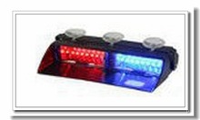 15 LED Emergency Vehicle Strobe Lights Windshields Flash Warning Red/Bule/Amber/White LED POLICE LIGHTS