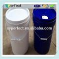 20L azul lubricar cubo para impresión del aceite con tubo de salida del precio de fábrica lubricar cubo