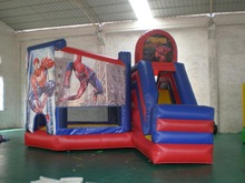 bouncy slide combo games, inflatable games