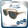 1 unids Dropshipping venta al por mayor 1.1 mm lente polarizada gafas de sol de madera