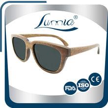1 pcs wholesale Dropshipping 1.1mm polarized lens wooden sunglasses